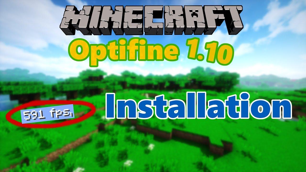 minecraft optifine 1.10 2 download