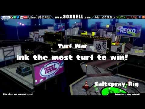 Wii U Splatfest Livestream with 302RELL