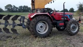 Mahindhra arjun novo 605 4wd 4mb plough very nice number8886436603