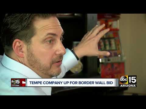 Tempe company top contender for border wall bid
