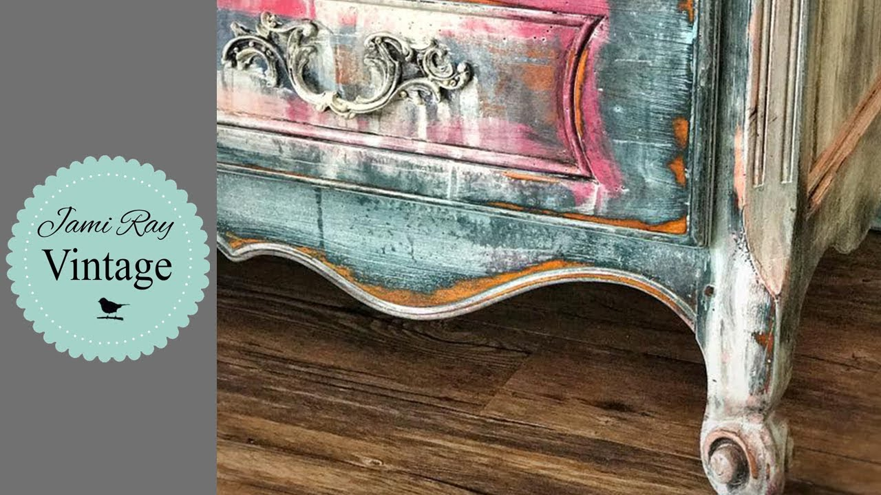 Hand Painted Furniture Rustic