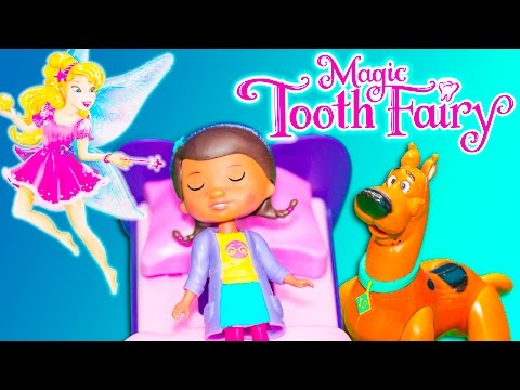 MAGICAL TOOTH FAIRY Game TheEngineeringFamily Funny Game Night Video with Scooby + Doc McStuffins
