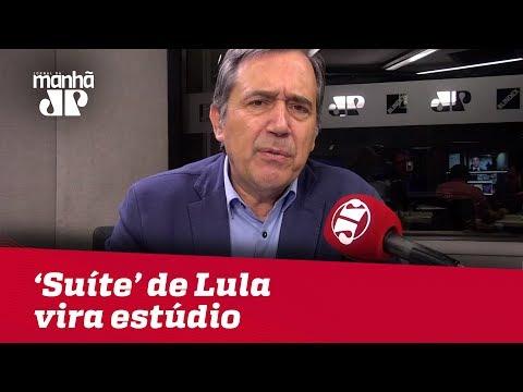 'Suíte' de Lula vira estúdio e isso é inaceitável | #MarcoAntonioVilla