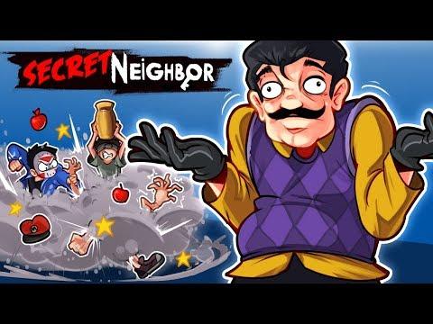 Secret Neighbor - WE LEARNED SOMETHING NEW!!! 1V5!