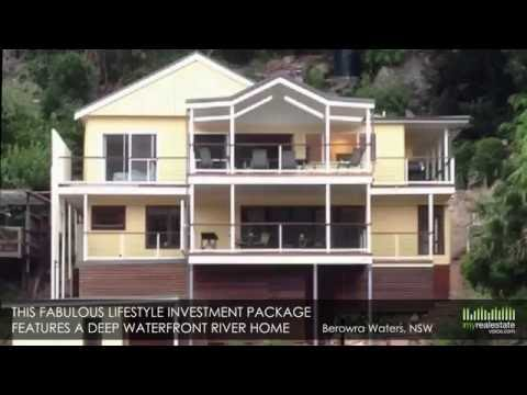 Two Waterfront Apartments on the Hawkesbury River Business f