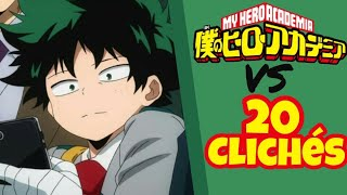 20 Cosas Típicas del Anime vs Boku No Hero Academia!