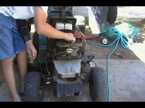 yard machine mower problems