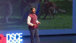 Train the owner, not the dog | Amrut Dog Guru Hiranya | TEDxDSCE