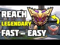 HOW to Reach LEGENDARY Rank FAST and EASY in Call Of Duty Mobile