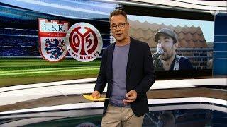 EXAT beim LSK vs.  Mainz 05 in der ARD Sportschau (DFB Pokal 12.08.17)