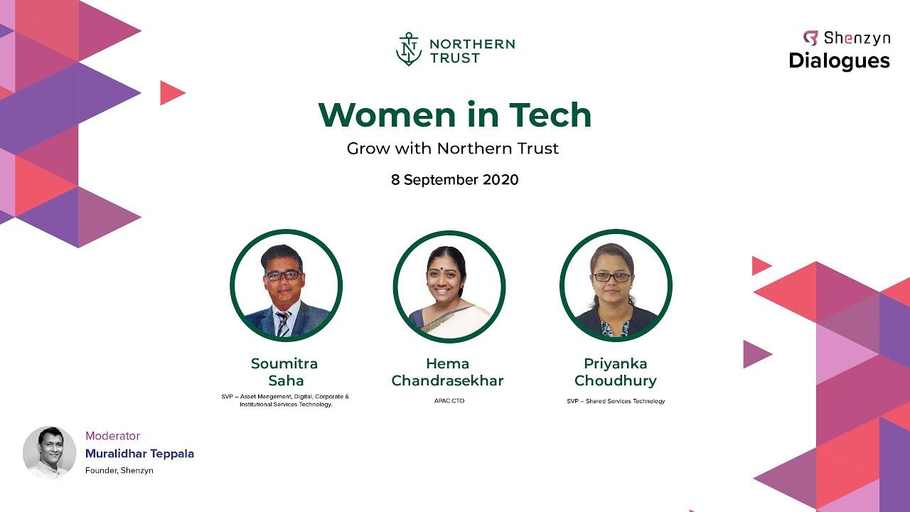 Women In Tech Northern Trust Shenzyn Dialogue 6 Youtube