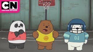 We Bears Bears | Baby Bears B-Ball Showdown | Cartoon Network
