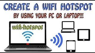 Het Maken van wifi-Hotspot in Windows 7 / Computer K Zarye Apne Mobiele Par Internet Gebruik Karain