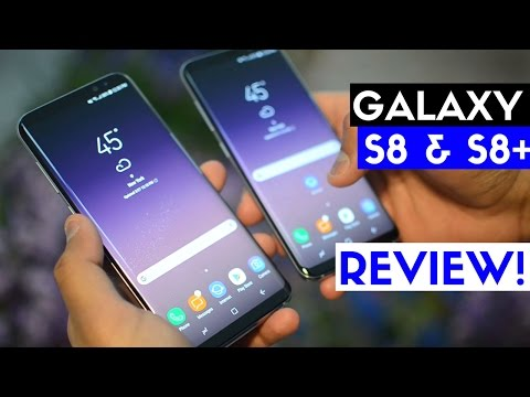 Samsung Galaxy S8 & S8+ Review! The Best Phone of 2017 So Far!