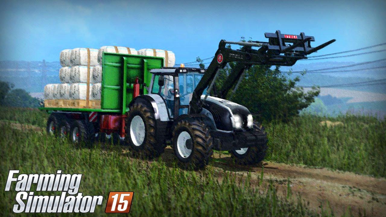 Farming Simulator 15 - Valtra T163 Gameplay (Loading Wool)