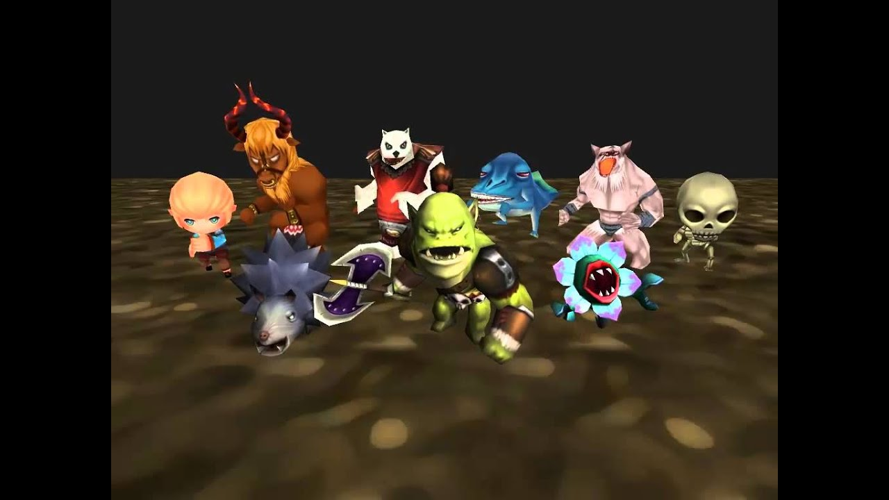 Monster Pack, 3D Character Models in Unity Asset Store #2