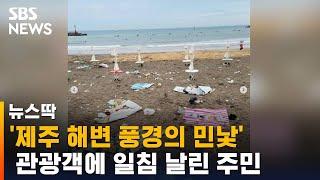 """""""먹었으면 제발""""…술집 막자 해변으로 모인 사람들 / SBS"""