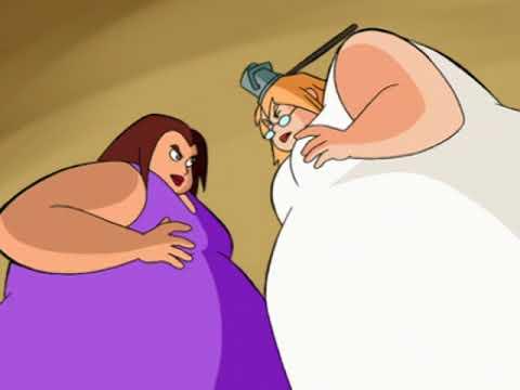 Weight Gain - Hilda and Zelda (Sabrina's Secret Life S01E08)