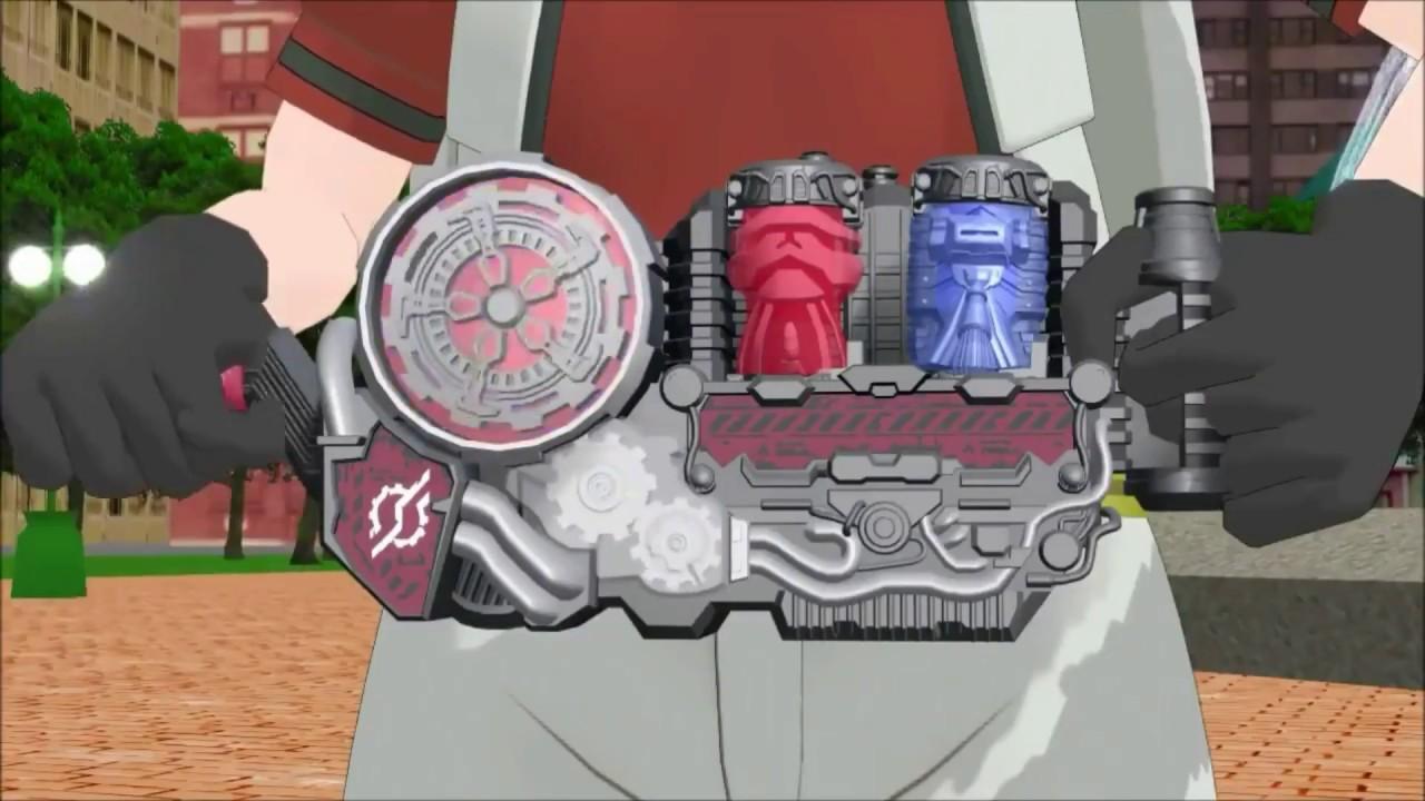 Kamen Rider BUILD HENSHIN ANIME VERSION in HD!!