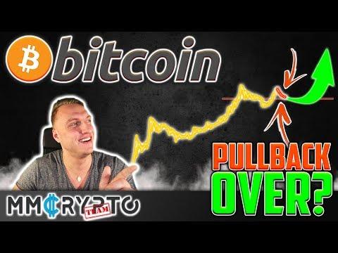 Bitcoin Pullback OVER Or $7.800 Target!? SECRET Data Revealed!!