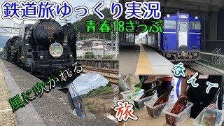 【鉄道旅ゆっくり実況】第11回 青春18きっぷ 呑んで 風に吹かれる旅