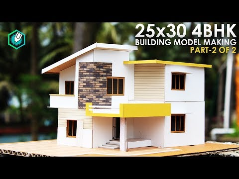 25x30 4bhk Architecture Model Making Simple Elevation Model Youtube,Graphic Design Organic Shapes Vector