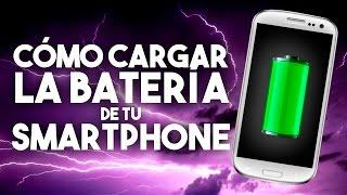 Cómo cargar la batería de tu smartphone - #Tutorial - La red de Mario