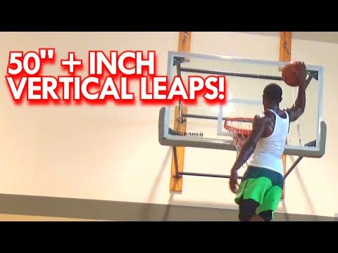 Dunkers with 50+ INCH VERTICALS! Will Bunton, Courtney Stephens, Issac White & Jamal Harris
