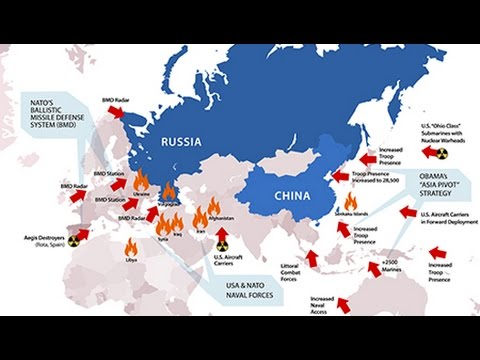 USNATO Border Confrontation With Russia Risks Nuclear War And - Nuclear war us map