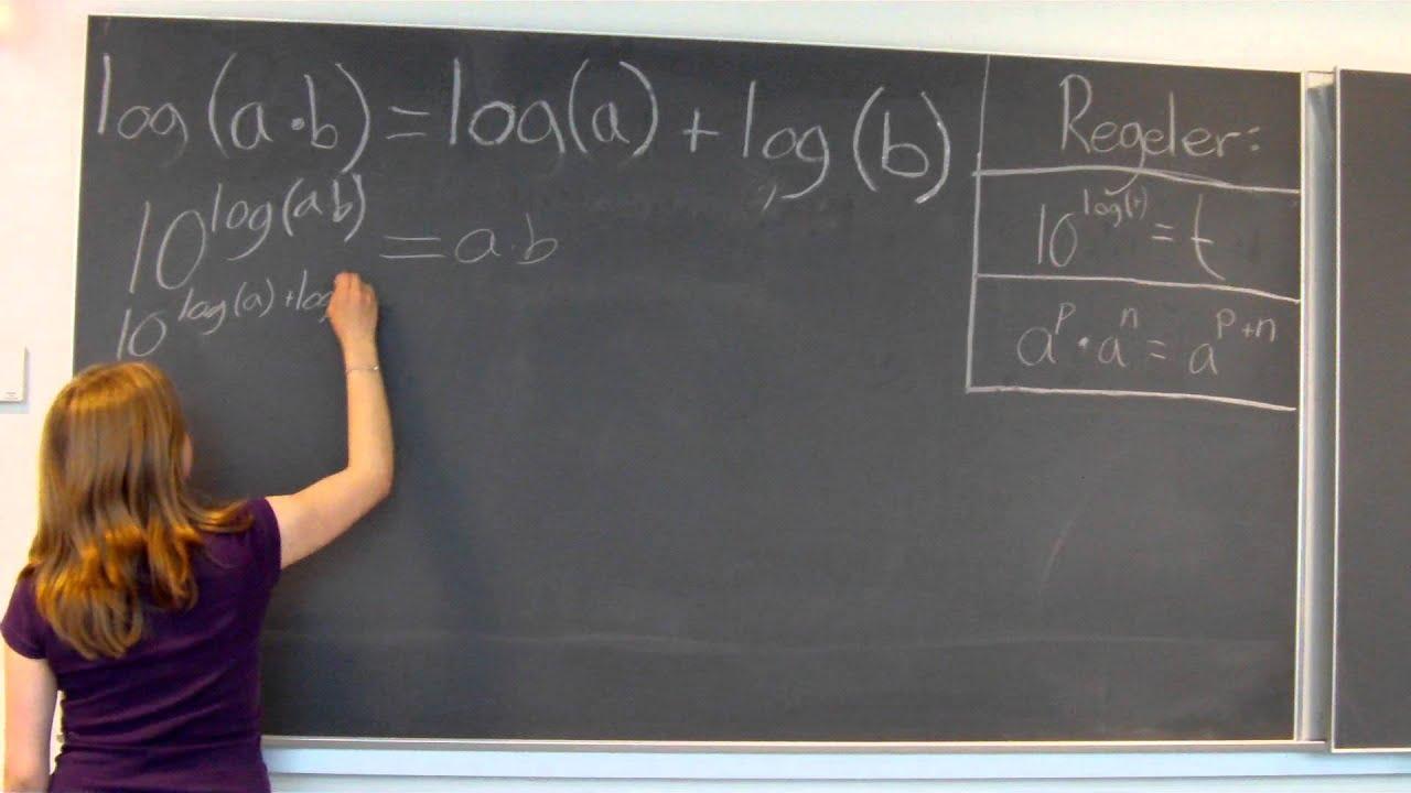 Matematik Logaritme Del 1