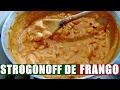 STROGONOFF DE FRANGO SUPER FÁCIL E RÁPIDO