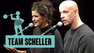 Team Scheller – Atem und Hände