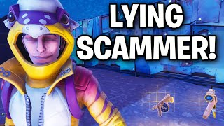 I Found the DUMBEST Imposter EVER... 🤣🤡 (Scammer Get Scammed) Fortnite Save The World