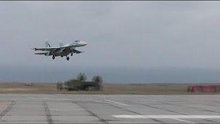 NATO concern over Russian planes in Crimea