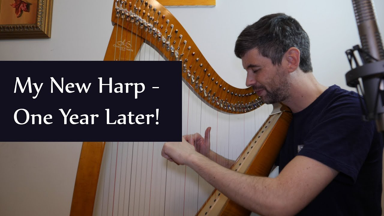 My new harp - one year in! A year with a Camac Excalibur, Harp Tuesday ep   140