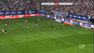 Video Gol Pertandingan Hamburger SV vs FC Bayern Munchen