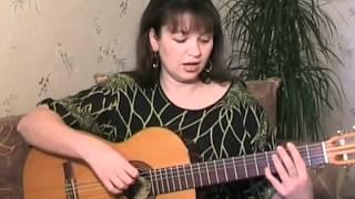 Видео урок игры на гитаре песни группы Кино 'Группа крови' от Алены Кравченко(, 2012-03-24T13:23:28.000Z)