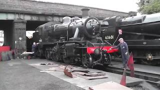 A day in the life of a steam locomotive fireman
