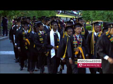 Morehouse Commencement Part One - May 15, 2016