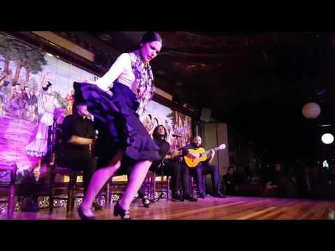 Tablao Flamenco Villa Rosa V CONCURSO DE BAILE FLAMENCO 2016 Semifinales 2a ronda 3r part 1Act