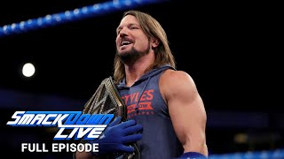 WWE SmackDown LIVE Full Episode, 9 January 2018