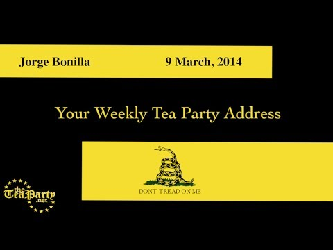 National Weekly Tea Party Address: I call on President Obama