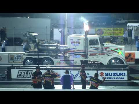 Jet Truck Drag Race Palm Beach International Raceway