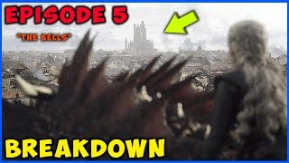 "Game Of Thrones Season 8 Episode 5 ""The Bells"" Breakdown! ⚔️🛡"