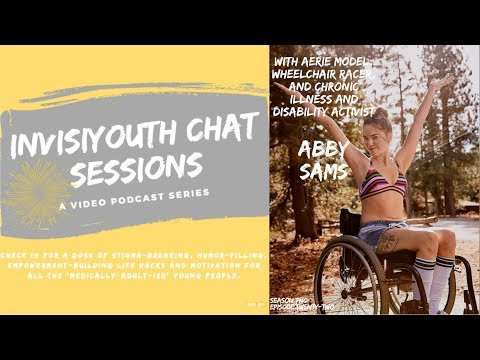 E22: InvisiYouth Chat Sessions With Aerie Model, Wheelchair Racer And Activist Abby Sams
