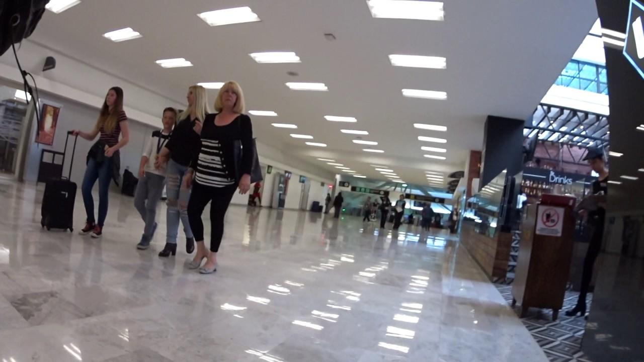 Dentro Del Aeropuerto Internacional De La Ciudad De Mexico - YouTube