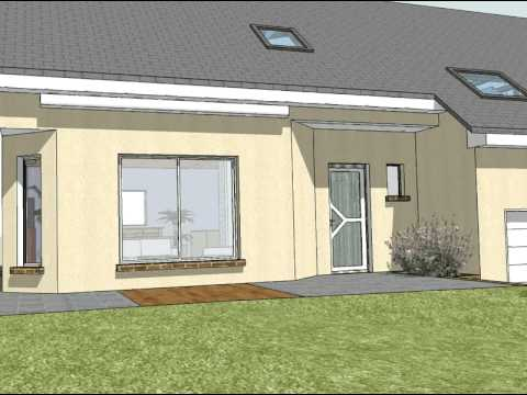 Maison 3d google sketchup youtube for Google sketchup maison