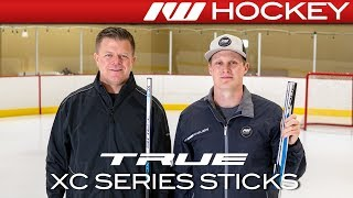 2018 True XC9 ACF Stick Line // On-Ice Insight