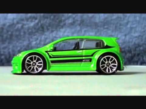 awesome hot wheels car volkswagen golf gti youtube. Black Bedroom Furniture Sets. Home Design Ideas