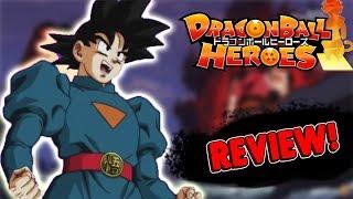 GOKU DISCÍPULO DE DAISHINKAN E JIREN VS KANBA! Dragon Ball Heroes Episódio 8 REVIEW